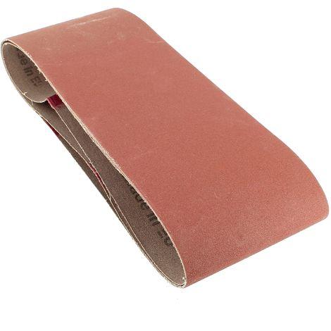 Bandes abrasives 100x560 150g par 3 pour Ponceuse Ryobi, Ponceuse A.e.g, Ponceuse Elu