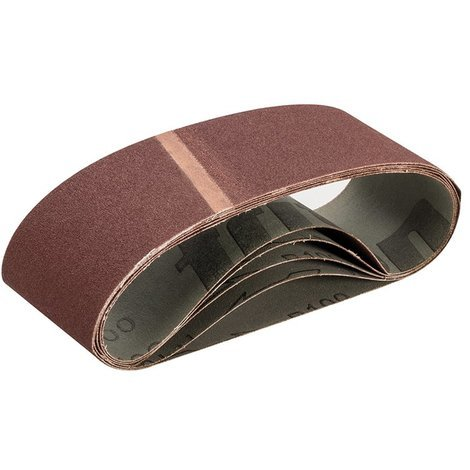 Bandes abrasives 75 x 533 mm 5 pcs - Grain 100