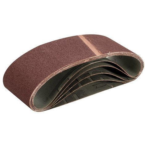 Bandes abrasives 75 x 533 mm 5 pcs - Grain 60