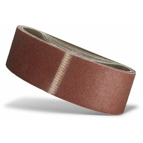 Bandes abrasives MENZER, corindon normal, 533 x 75 mm, G36–120