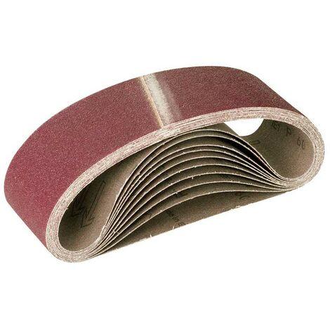 Bandes abrasives MioTools, corindon normal, 610 x 100 mm, G36–120
