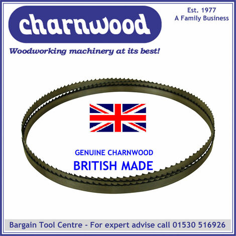 Bandsaw Blade 2240mm x 6mm x 6tpi to fit W721 & B300