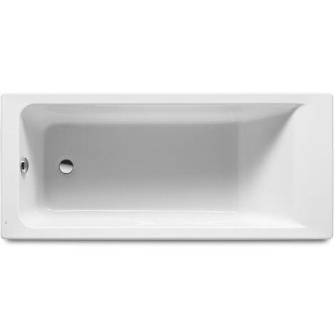 Bañera acrílica rectangular - Serie Easy , Color Blanco - Roca
