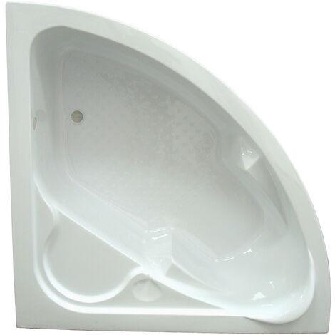 BAÑERA acrilico FANY angular 135x135 Dimensiones : 135x135x55 cm - Aqua +