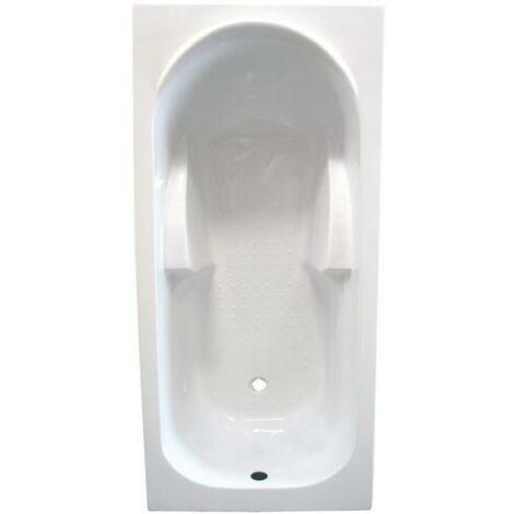 BAÑERA acrilico rectangular FANY 140x70 Dimensiones : 140x70x55 cm - Aqua +