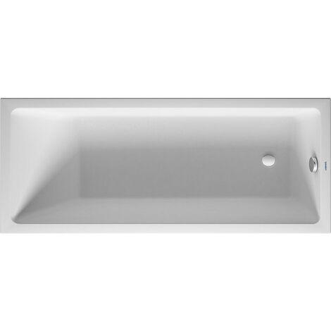 Bañera de aire Duravit Vero, versión empotrada 170x70cm, un respaldo inclinado, 700411 - 700411000000000