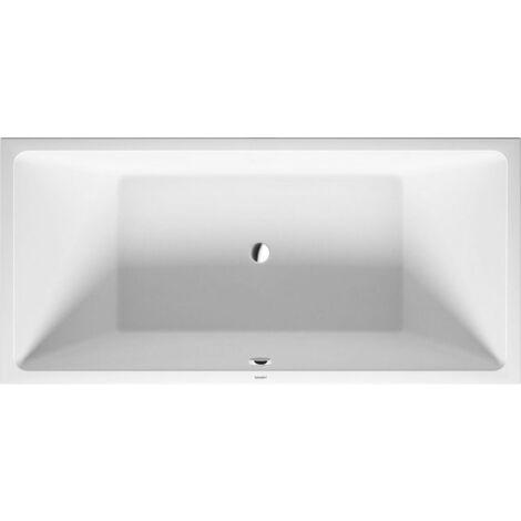 Bañera de aire Duravit Vero, versión empotrada 190x90cm, dos vertientes traseras, 700414 - 700414000000000