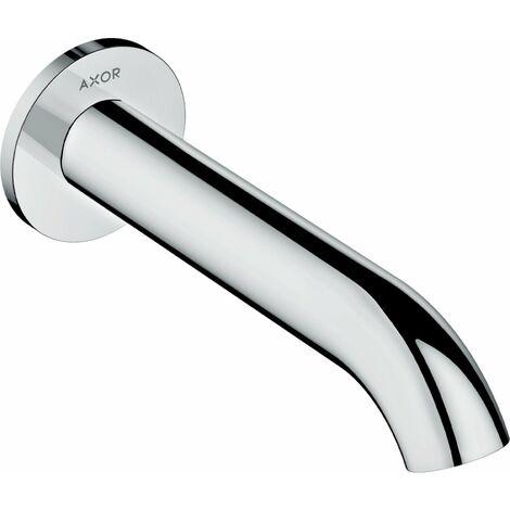 Bañera de ducha Hansgrohe AXOR Uno, curvada, proyección 178mm, color: Níquel Cepillado - 38411820
