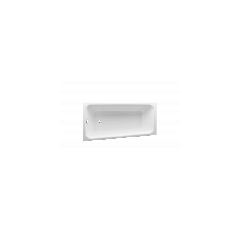Bañera de esquina BetteSpace M, 170x90cm, 1131, 1 respaldo inclinado, blanco, montaje a la izquierda, color: Blanco con BetteGlasur Plus