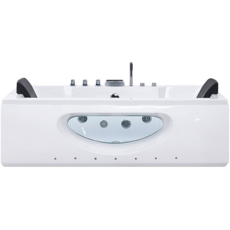 Bañera de hidromasaje con LED HAWES