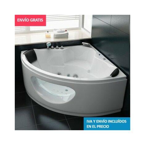 Bañera de hidromasaje ECO-DE® COSTA DORADA 150x150x61cm (mantenedor de calor)