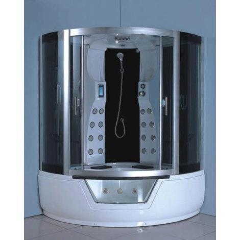 Bañera de hidromasaje Modelo MONTECARLO 150 X 150 CM (cm 230 h)