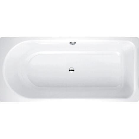 Bañera de hidromasaje Ocean 170x80 cm, 8765, rebosadero, blanco, color: Blanco con BetteGlasur Plus - 8765-000Plus