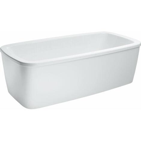 Bañera de pie sin bañera con delantal Palomba con base 1800x900x455 blanco - H2318000000001