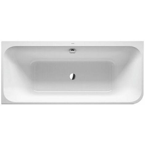 Bañera Duravit Happy D.2 180x80cm, esquina izquierda, 700316, con revestimiento y marco de acrílico moldeado - 700316000000000