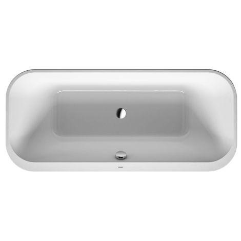 Bañera Duravit Happy D.2 180x80cm, versión para montaje en superficie, 700320 - 700320000000000