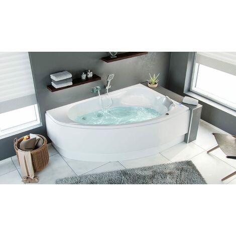 Bañera hidromasaje Constantin Premium derecha llenado vía rebosadero