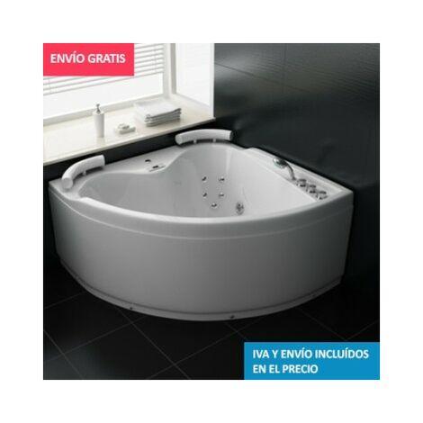 Bañera Hidromasaje ECO-DE® BENISSA 140x140x60 cm (mantenedor de calor)