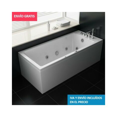 Bañera Hidromasaje ECO-DE® TENERIFE 180x80x68 cm (mantenedor de calor)