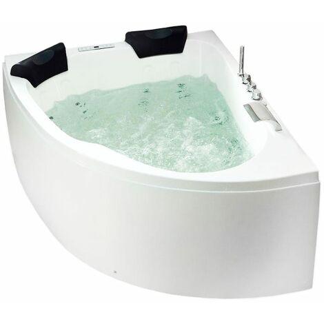 Bañera hidromasaje Royal 1600 Premium izquierda (L/A/A) 160x125x70 cm