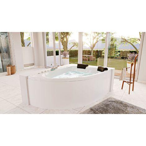 Bañera hidromasaje Royal XL 1800 Premium derecha (L/A/A) 180x130x70cm