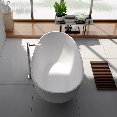 Bañera independiente 185 cm Solid surface - Sensaé