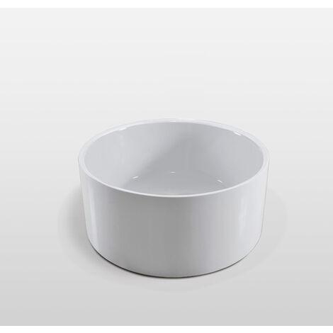 Bañera Independiente diam. 134cm Crystal Diseño Moderno e Innovador