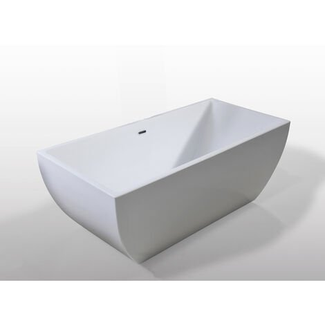 Bañera Independiente Freestanding Diseño Moderno e Innovador 170x75cm Jennifer