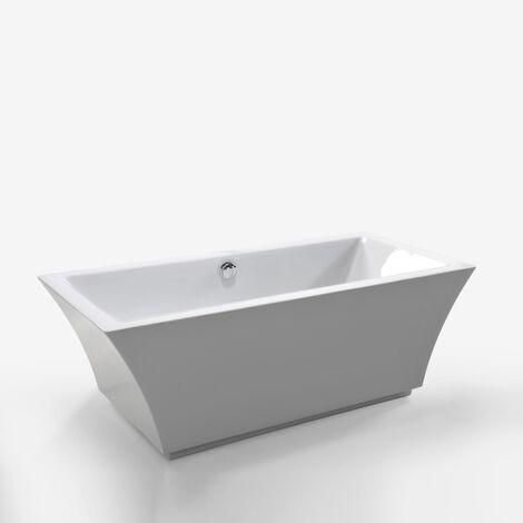 Bañera Independiente Freestanding Diseño Moderno e Innovador 170x80cm Susan