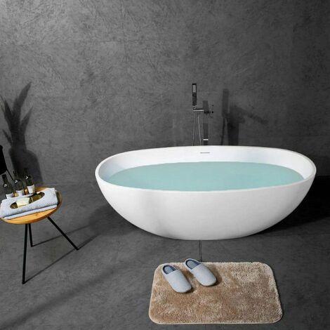 Bañera moderna Solid Surface CAIRO