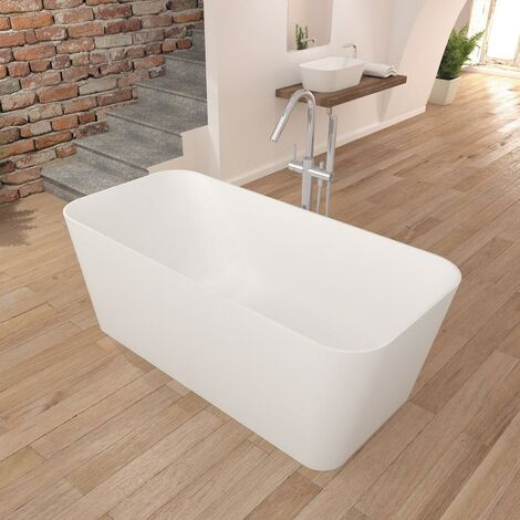 Bañera moderna Solid Surface RUST | SANYCCES
