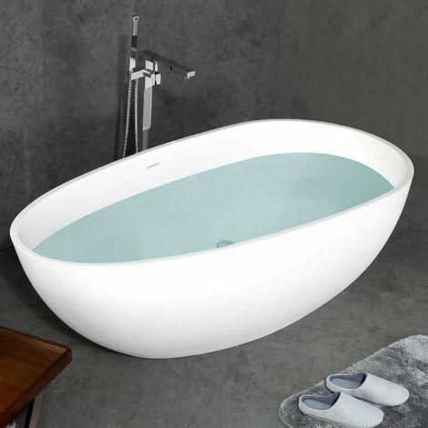 Bañera moderna Solid Surface STOCKHOLM