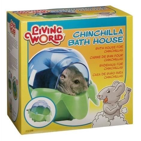Bañera para Chinchilla LIVING WORLD