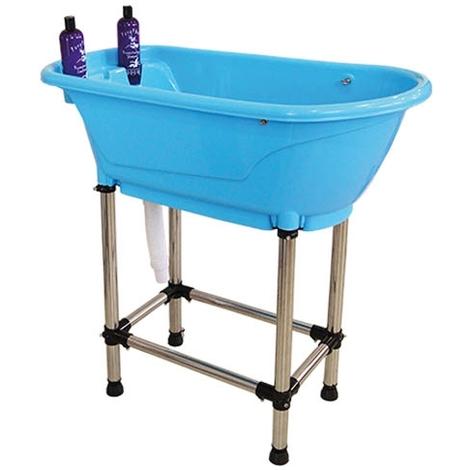 Bañera para mascotas perros y gatos con patas Ibáñez portátil Tailor's bath Medidas: 96 x 50 x (alt.) 92 cm