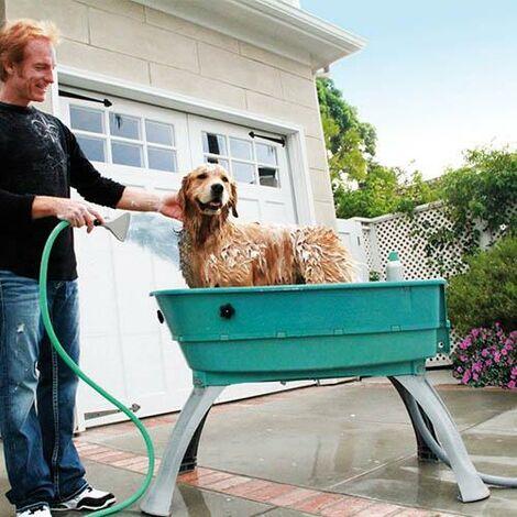 Bañera polipropileno portátil Booster Bath, muy resistente y de alta calidad, tres tallas disponibles, para peluquería canina