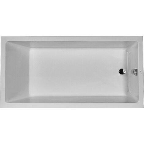 Bañera rectangular Duravit Starck 180x90cm, un respaldo inclinado, 700050, versión empotrada - 700050000000000