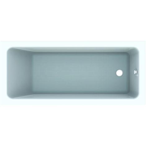 Bañera rectangular Geberit Tawa, 170 x 75 cm, blanca - 650475000