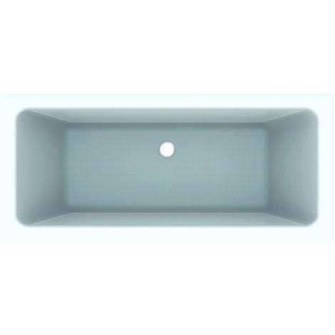 Bañera rectangular Geberit Tawa, Duo, 170 x 75 cm, blanca - 650470000