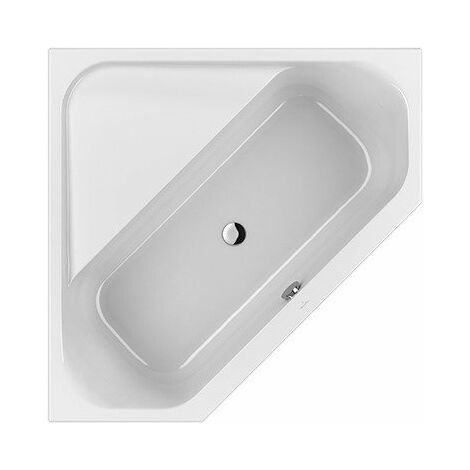 Bañera Villeroy und Boch Bañera angular acrílica LOOP & Friends Square Duo, UBA140LFS3V 1400x1400mm, forma interior cuadrada, color: Star White - UBA140LFS3V-96