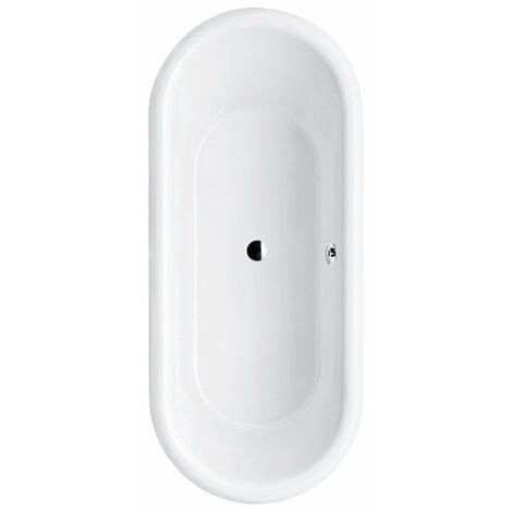 Bañera Villeroy y Boch Quaryl Oval Nexus Duo, UBQ180NEU7V 1771x771mm, incl. pies de bañera, color: blanco-alpino - UBQ180NEU7V-01