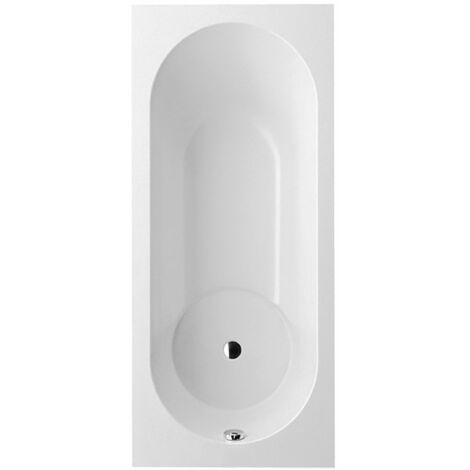 Bañera Villeroy y Boch Quaryl rectangular Libra Solo, UBQ180LIB2V, 1800x800mm, incl. pies de bañera, color: blanco-alpino - UBQ180LIB2V-01
