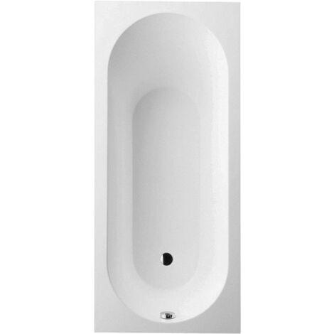 Bañera Villeroy y Boch Quaryl rectangular Oberon Duo, UBQ199OBE2V 1900x900mm, incl. pies de bañera, color: blanco-alpino - UBQ199OBE2V-01