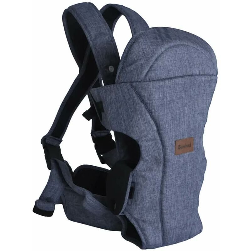 Image of 2-in-1 Baby Carrier Sacco Blue - Blue - Baninni
