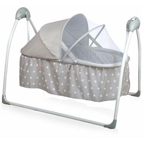 Baninni Babyschaukel Krippe Gondola Grau BNBS004-GYST