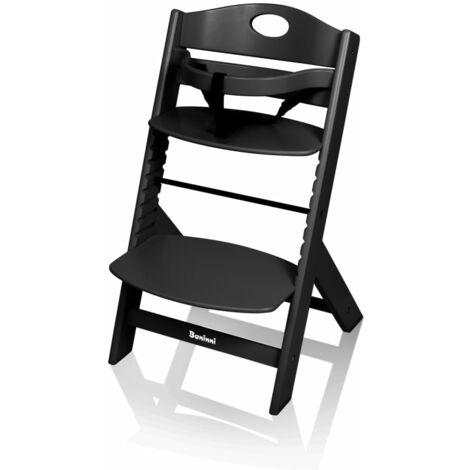 Baninni High Chair Muna Wood White