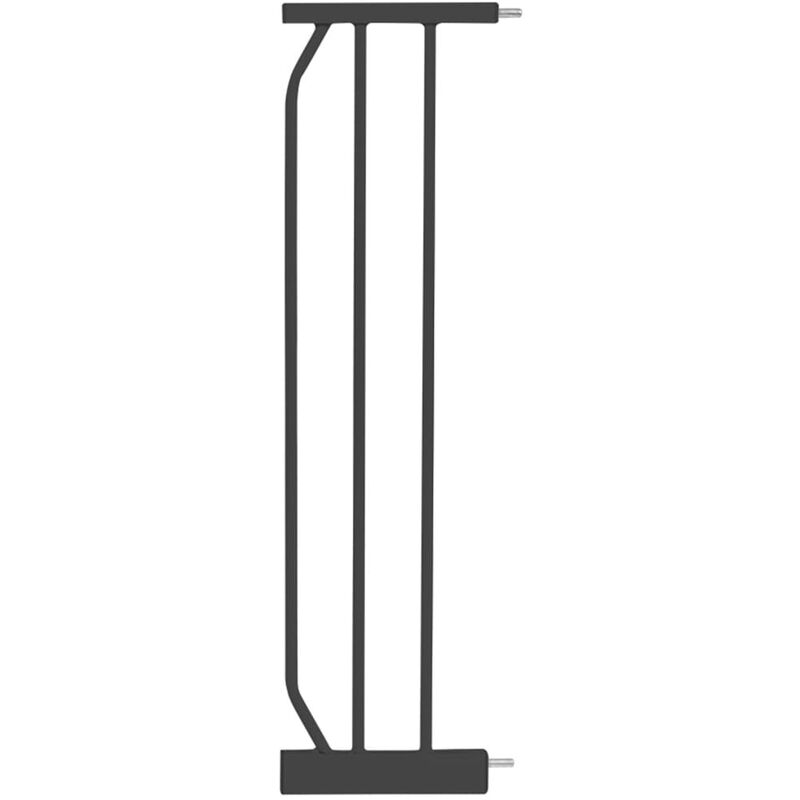 Image of Safety Gate Extension Vicino 20cm Dark Grey - Grey - Baninni