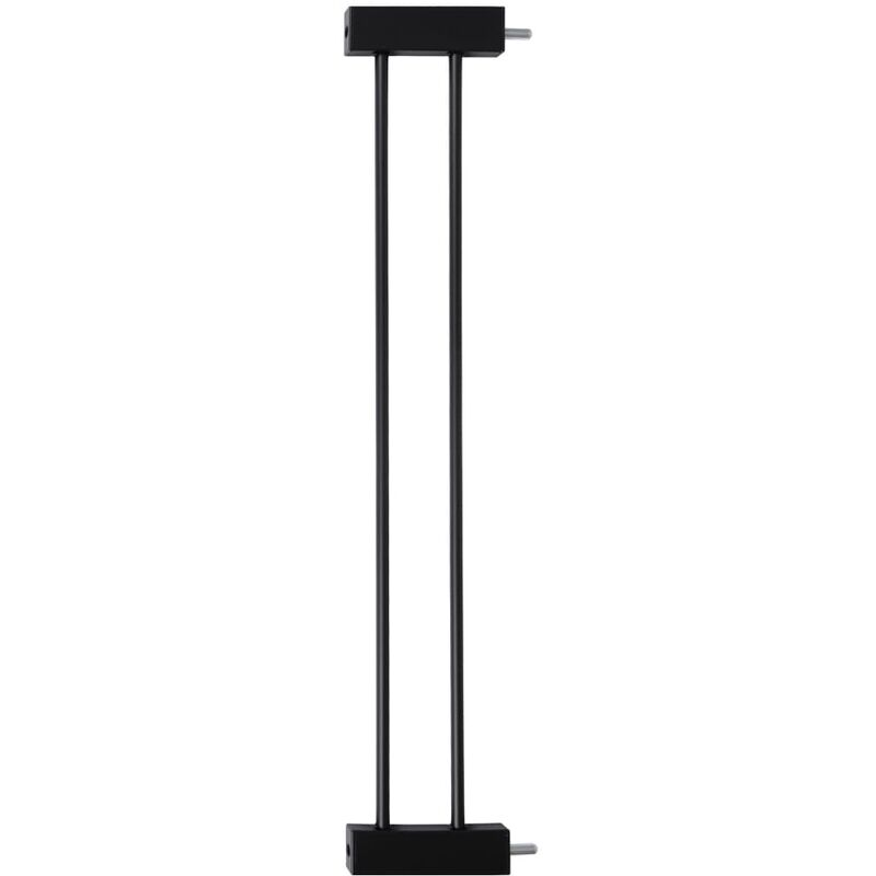 Image of Safety Gate Extension Woody 14cm Black - Black - Baninni