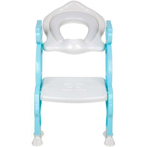 Baninni Toilet Seat with Ladder Bravo Blue