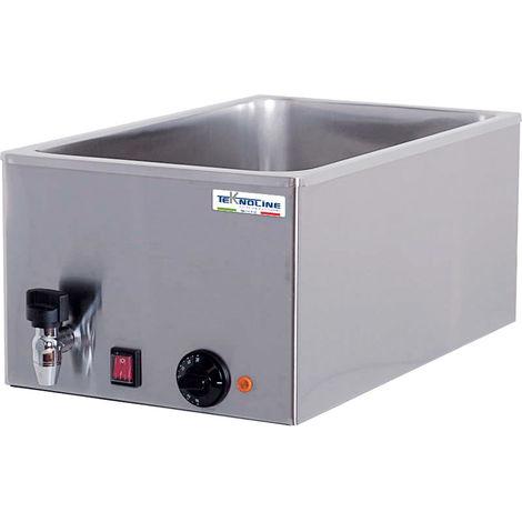 Bano de agua profesional con grifo cm 34x54x25 teknoline BM 16R