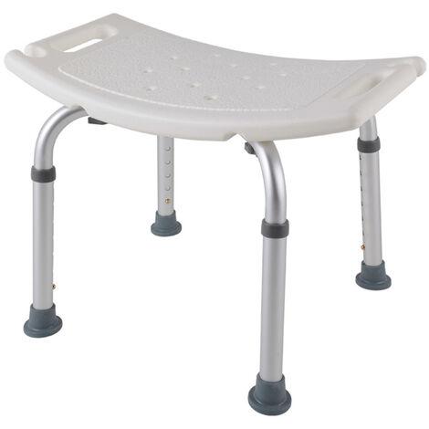 Bano Ducha Banco de altura ajustable ducha de hidromasaje Stool ligero de la ducha del bano de asiento antideslizante silla de ducha para las mujeres embarazadas mayores de movilidad